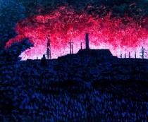 Oil on canvas, 170cm x 140cm - 2006