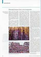 Lancet Oncology Zachary Peirce Chernobyl Exhibition Review